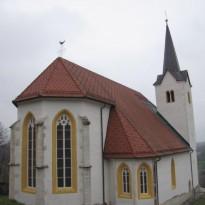 Apnena fasada Sakralnega objekta v Praprečah