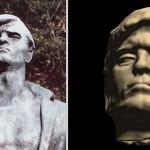 Primerjava fotografije prvotnega kipa in virtualne rekonstrukcije