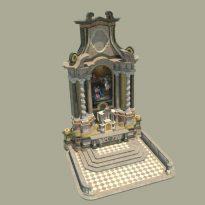 Frančiškani - Glavni oltar render 5.0