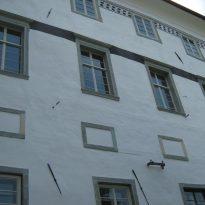 Radovljica graščina - okna