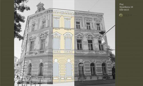 Ptuj - Slomškova 10 -barvna shema 2
